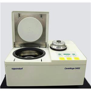 Eppendorf 5402 Refrigerated Centrifuge Benchtop 14000 RPM w/ Rotors Fast-Cool