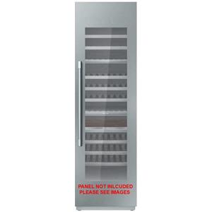 """Thermador 24"""" Built-in Fully Flush SoftClose Wine Preservation Column T24IW900SP"""