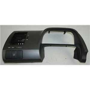 2007-2011 Honda Civic Speedometer Cluster Dash Bezel w/ Vent & VSA Switch