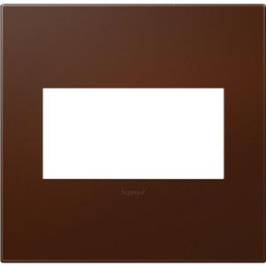 Legrand AWP2GRS4 adorne Russet soft touch 2-Gang Wall Plate