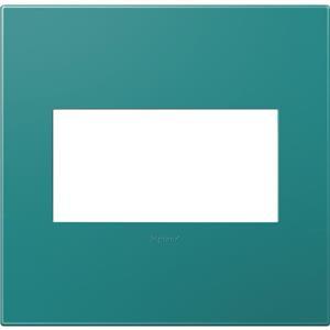Legrand AWP2GTB4 adorne Turquoise Blue 2-Gang Wall Plate