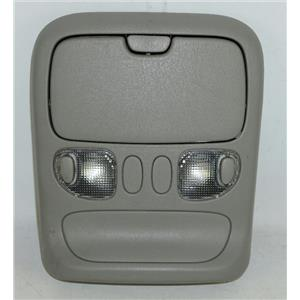 2004-2006 Toyota Tundra Overhead Console w/ Map Lights & Closed Storage