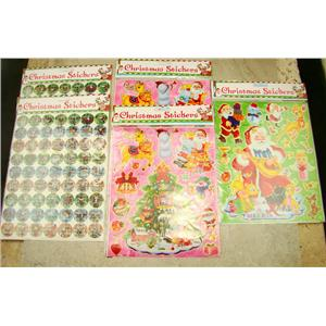Santa Christmas Nostalgic Sticker Kit - 168 - Stickers