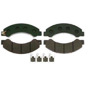 Hino Disc Brake Pad w/ Hardware Model 195 2013-2014 Front or Rear Severe Duty