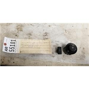 2011-2013 Ford F350 F450 F550 6.7L Lariat headlight + dimmer switch tag ar55101