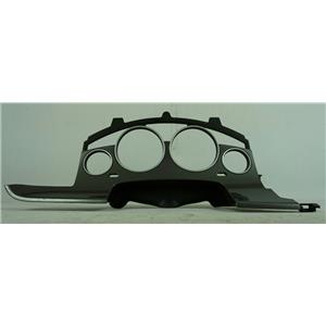 09-14 Volkswagen Routan Speedometer Cluster Dash Bezel w/ Silver Trim for Trip