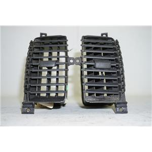 2005-2008 Nissan Frontier Front Center Right and Left Vents with Black Knobs
