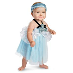 Cinderella Deluxe Infant Dress Up Costume 12-18  Months