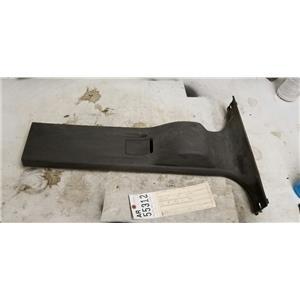 2011-2013 Ford F350 F450 F550 black right lower b pillar moulding tag ar55312