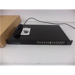 Ubiquiti ES-24-500W EdgeSwitch 24-Port 500W Managed PoE+ Gigabit Switch w/SFP