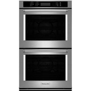 "KitchenAid 30"" 10.0 Cu. Ft. Stainless Steel Double Wall Oven KODE500ESS"