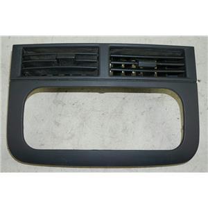 1999-2004 Jeep Grand Cherokee Radio Dash Trim Bezel Black Trim w/ Black Vents