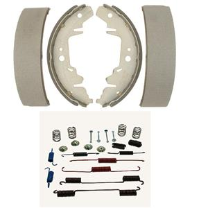 Rear brake shoe set with spring kit  Fits Cube Sentra Versa 2007-2014