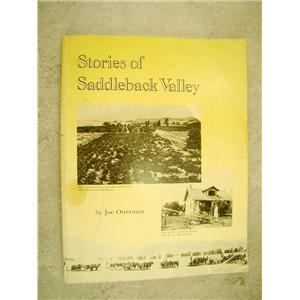 Stories of Saddleback Valley By Joel Osterman 1985 edition