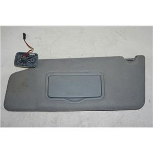 2009-2014 Ford F150 Driver Side Sun Visor with Lighted Mirror and Adjust Arm Bar