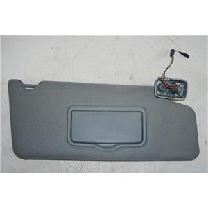 2009-2014 Ford F150 Passenger Side Sun Visor with Lighted Mirror Adjust Arm Bar