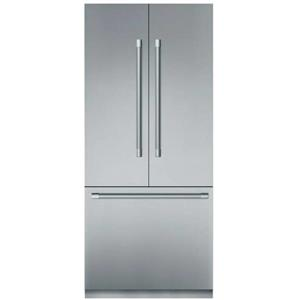"Thermador Freedom 36"" SS Open Door Assist French Door Refrigerator T36BT920NS"