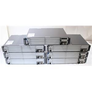 Lot of 7 Huawei BBU3900 Modular Telecom Chassis with UPEU Module