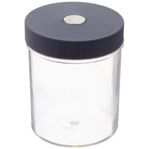 "3"" Plastic Container With Magnetic Lid, Size 3"" x 2-3/8"" Dia"