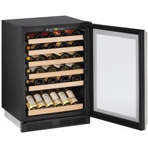 U-Line Wine Captain 1000 Series 24 Inch Built-In Wine Storage U1224WCS00B