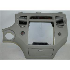 2006-2011 Hyundai Azera Radio Climate Dash Trim Bezel Vents Digital Clock