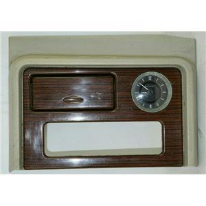 2003-2006 Yukon Escalade Caddy Dash Trim Bezel w/ Clock, Storage, for CD Player