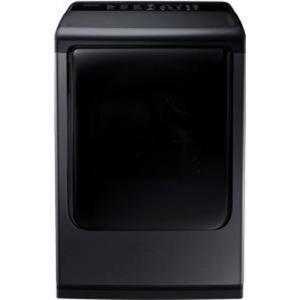 "NIB Samsung 27"" 7.4 cu. ft 12 Option Cycles Black Stainless Dryer DV50K8600EV"