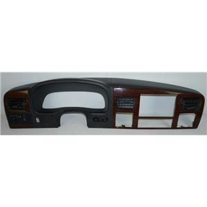 Ford F250 F350 05-07 Dash Surround Bezel Woodgrain Vents Light Fog Info Switches