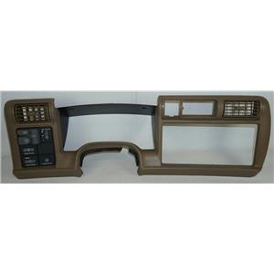 1995-1997 Chevrolet S10 Blazer S15 Jimmy Dash Trim Bezel Two Vents, Light Switch