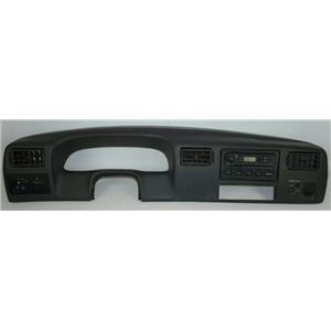1999-04 Ford F250 F350 Dash Trim Bezel Radio Assembly Light Dimmer Light Switch