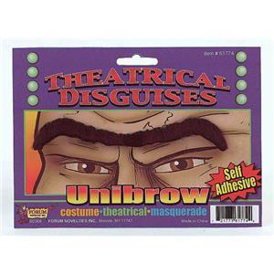 Black Self Adhesive Fake Unibrow Eyebrow
