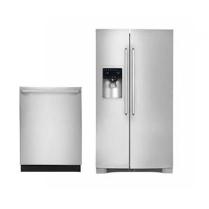 """NIB Electrolux IQ-Touch Series 36"""" Counter Depth Refrigerator and Dishwasher SET"""