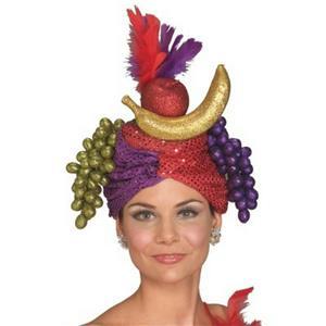 Carmen Miranda Fruit Headpiece Dancer Hat