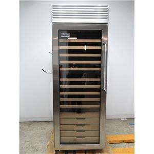 """Viking 30"""" 150 Bottles Stainless Steel Full-Height Wine Cellar VCWB301LSS"""