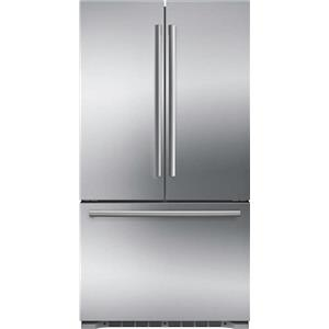 "Bosch 800 Series 36"" Counter Depth French Door Refrigerator B21CT80SNS IMGS"
