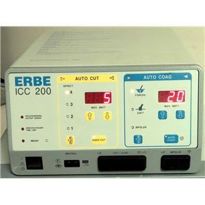 ERBE ICC 200 Electrosurgical Unit