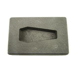 2 oz Coffin/Casket Shape Gold High Density Graphite Mold 1oz Silver Bar-USA MADE