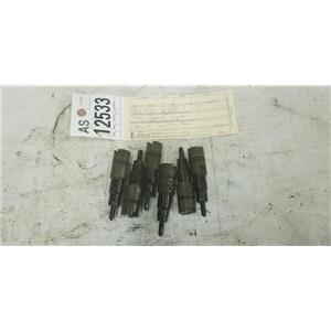 1998-2002 Dodge Cummins 2500 3500 5.9L CUMMINS injectors tag as12533