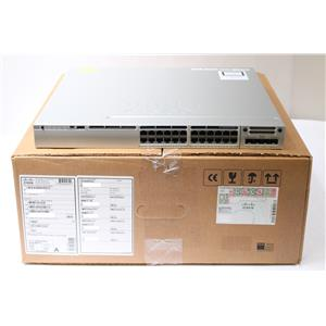 Cisco 3850 24 Port IP Services PoE+ Gig Switch / WLAN Controller WS-C3850-24P-E