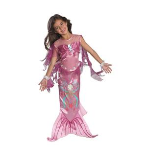Pink Mermaid Toddler Child Girls Costume Size 2-4
