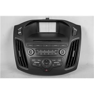 2015 2016 Ford Focus Center Dash Radio Bezel Vents Radio Controls with Sirius