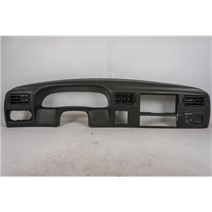 1999-2004 Ford F250 F350 Dash Trim Bezel with Vents 12V & Airbag Indicator