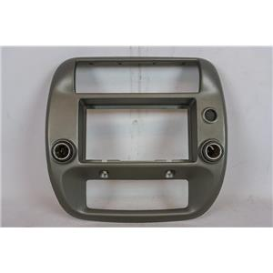 95-11 Ford Ranger Radio Climate 2WD Center Bezel 12V Outlets Pasenger Indicator