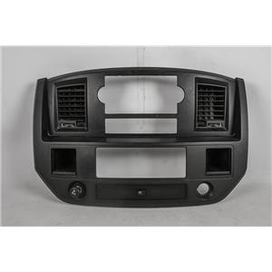 2006-2008 Dodge Ram 1500 2500 Radio Climate Combo Trim Bezel Vents Two Storage