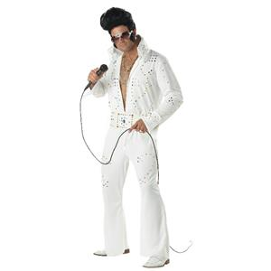 Rock Legend Adult Elvis Costume Size Medium 40-42