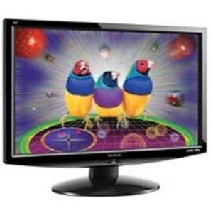 "ViewSonic VX 2433WM 23.6"" Widescreen LCD Monitor with built-in speakers"