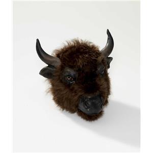 Brown Buffalo Adult Animal Costume Mask