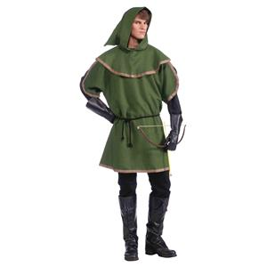 Sherwood Forest Adult Green Robin Hood Archer Tunic