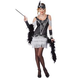 Razzle Dazzle 20's Flapper Adult Costume Size XS 4-6