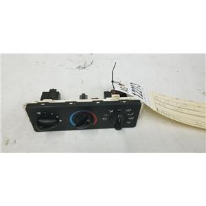 1999-2004 Ford F350/F250 heater and air conditioning controls tag as12213